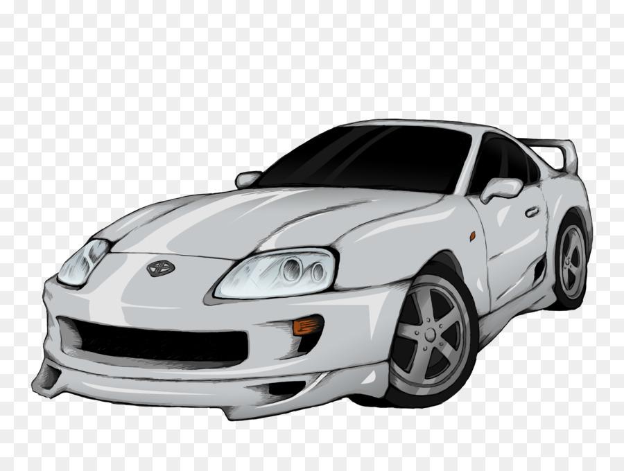 Toyota Supra Car png download.