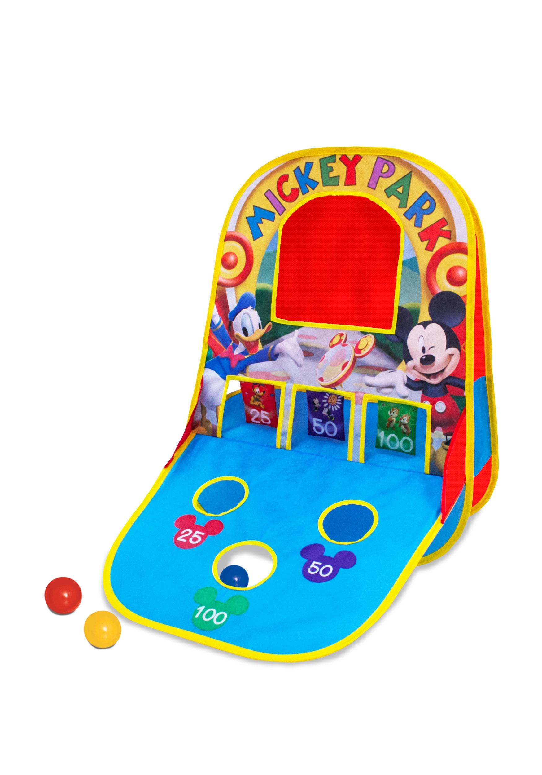 Mickey Triple Shot Game Center.