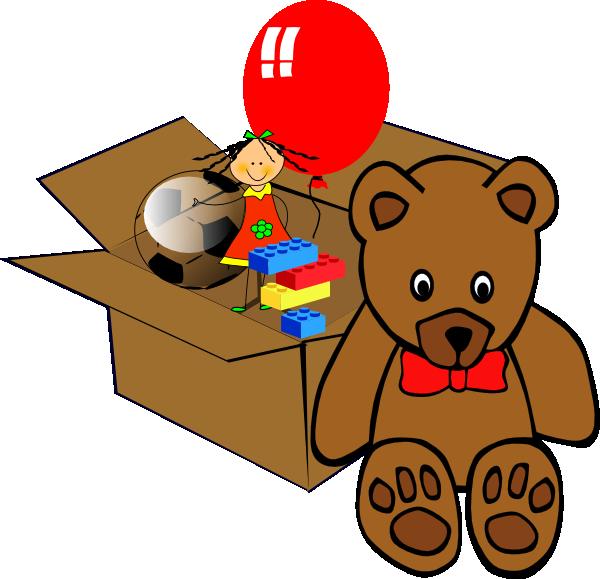 Box Full Of Toys Clip Art at Clker.com.