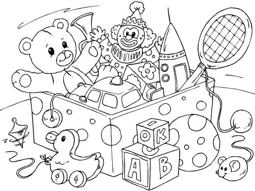 Free Toys Black And White Clipart, Download Free Clip Art.