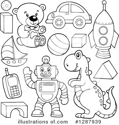 Toys clipart black and white 4 » Clipart Station.