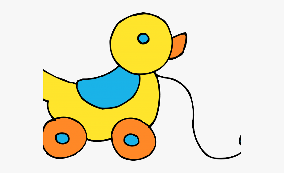 Duck Clipart Toy.