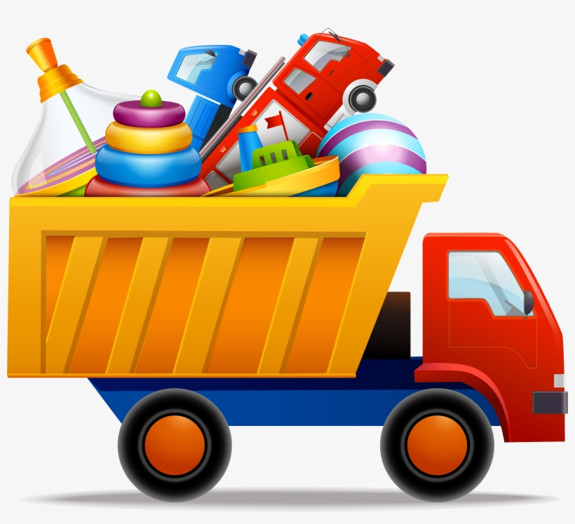 Toy Car Vector Png Clipart.
