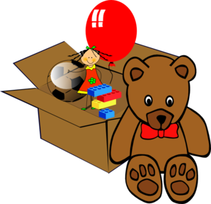 Box Full Of Toys Clip Art at Clker.com.