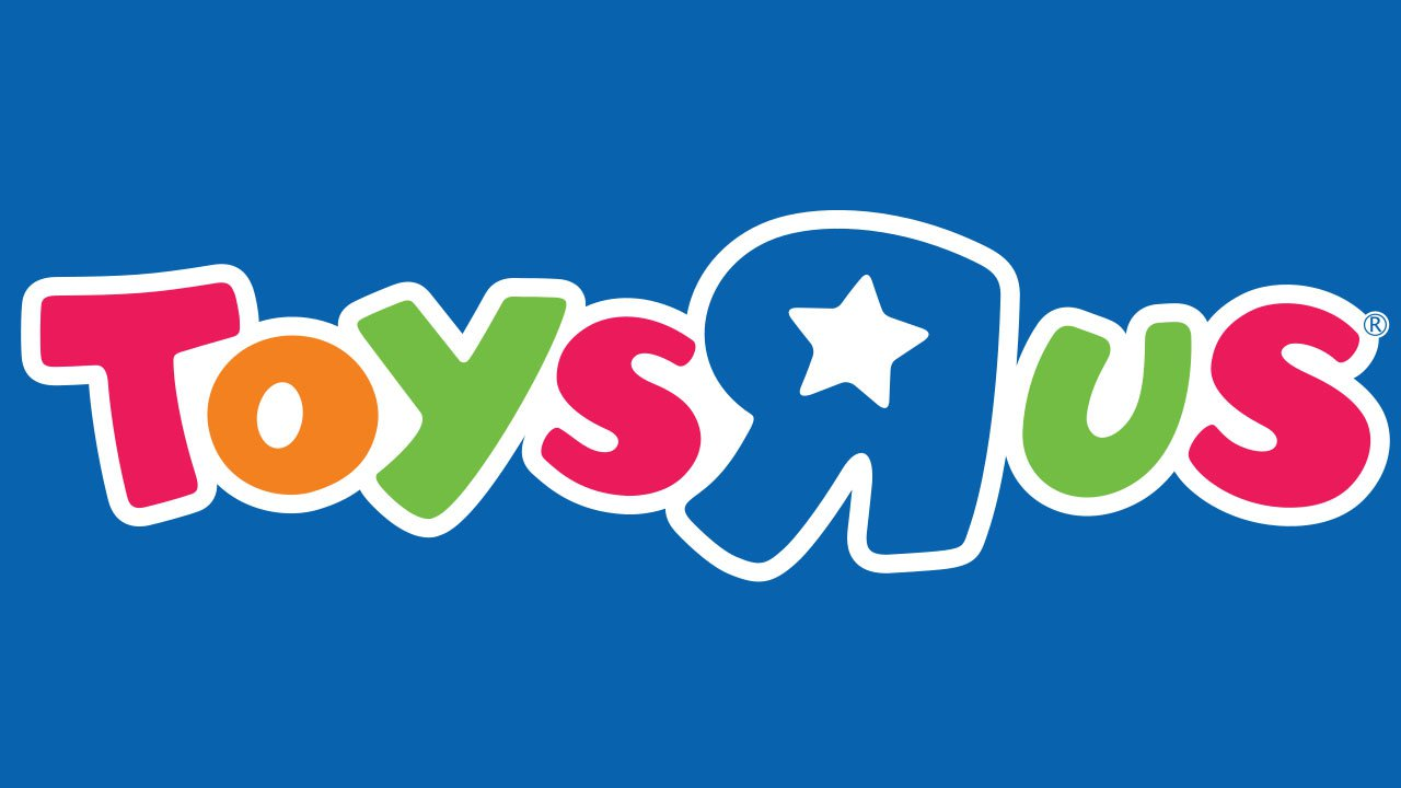 Toys R Us logo.