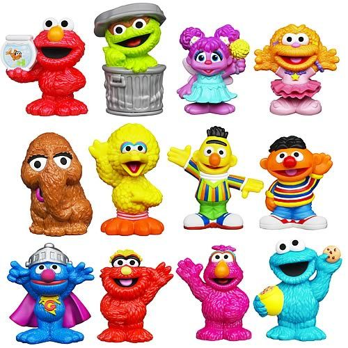 Seasame Street Characters in 2019.