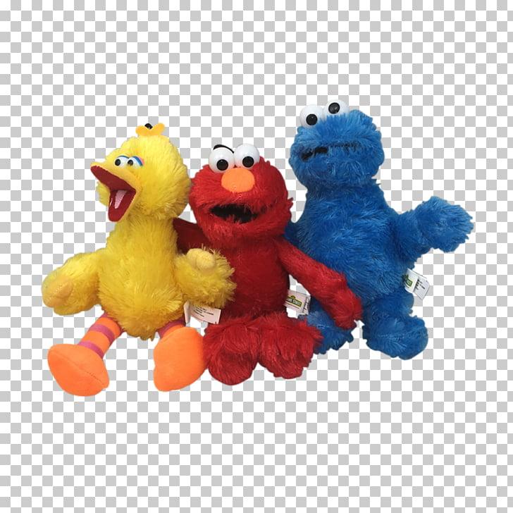 Big Bird Elmo Cookie Monster Sesame Street characters The.