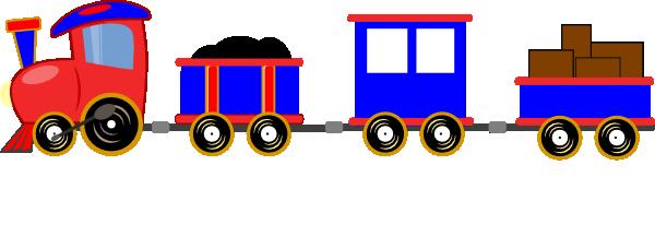 Toy Train Cartoon.