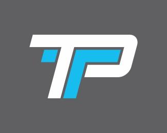 letter TP Designed by vectorizm.