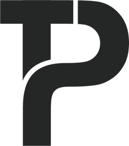 T P Letter Logo Vector (.AI) Free Download.
