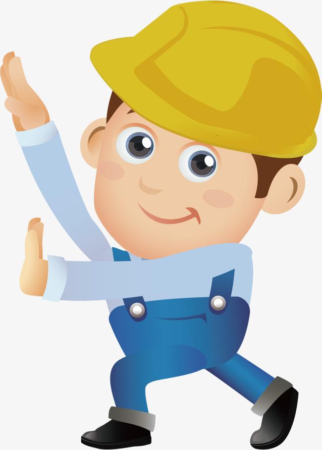 Download dibujo trabajador feliz clipart Laborer Cartoon.