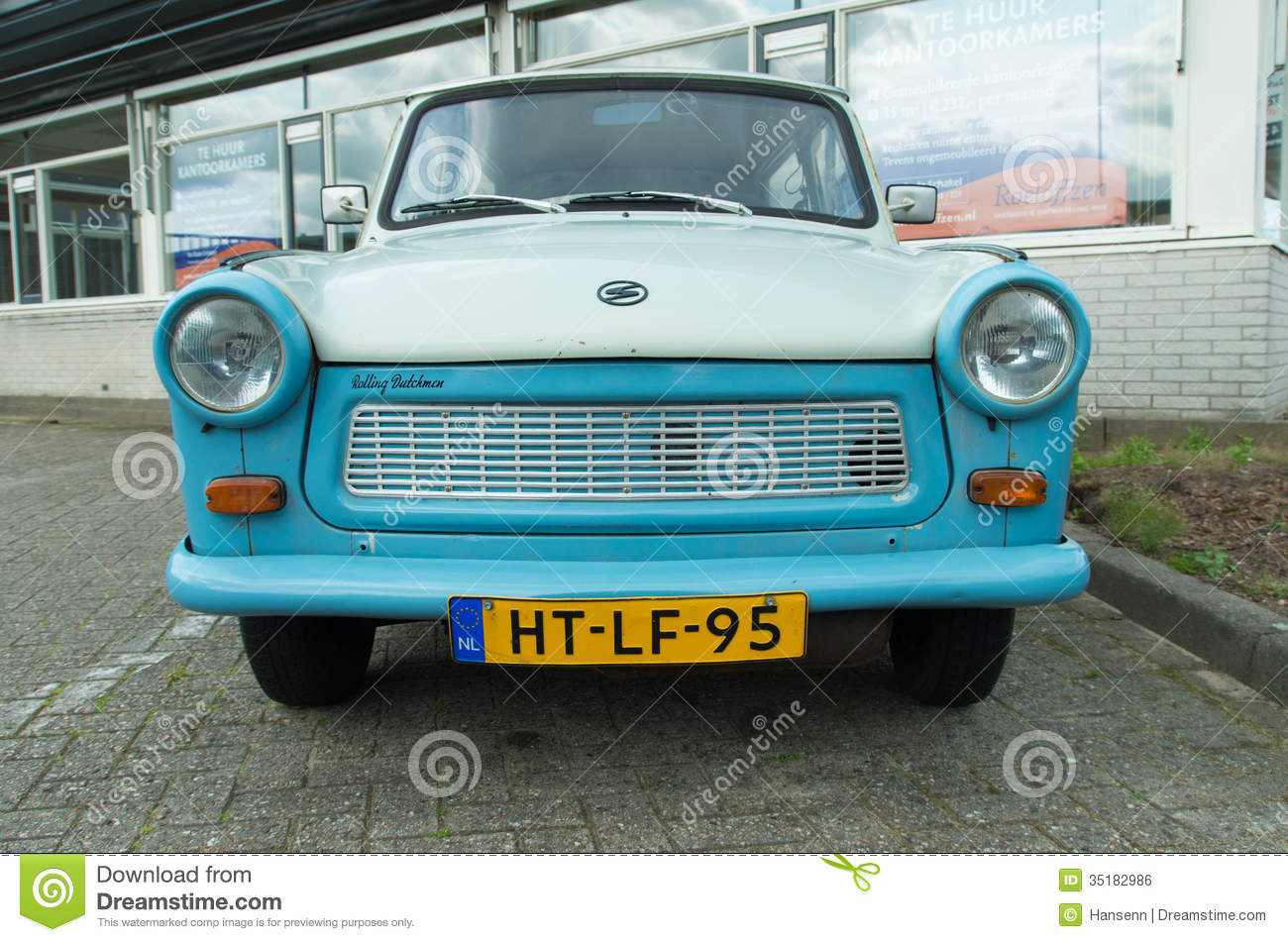 Trabant Car Editorial Stock Image.