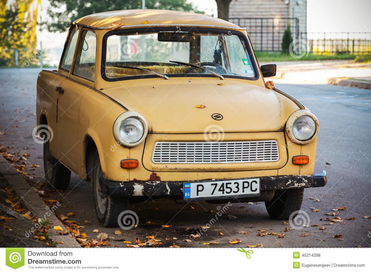 Old Trabant Car Royalty Free Stock Photos.