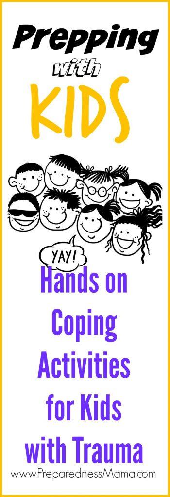 Hands on Coping Activities for Kids.