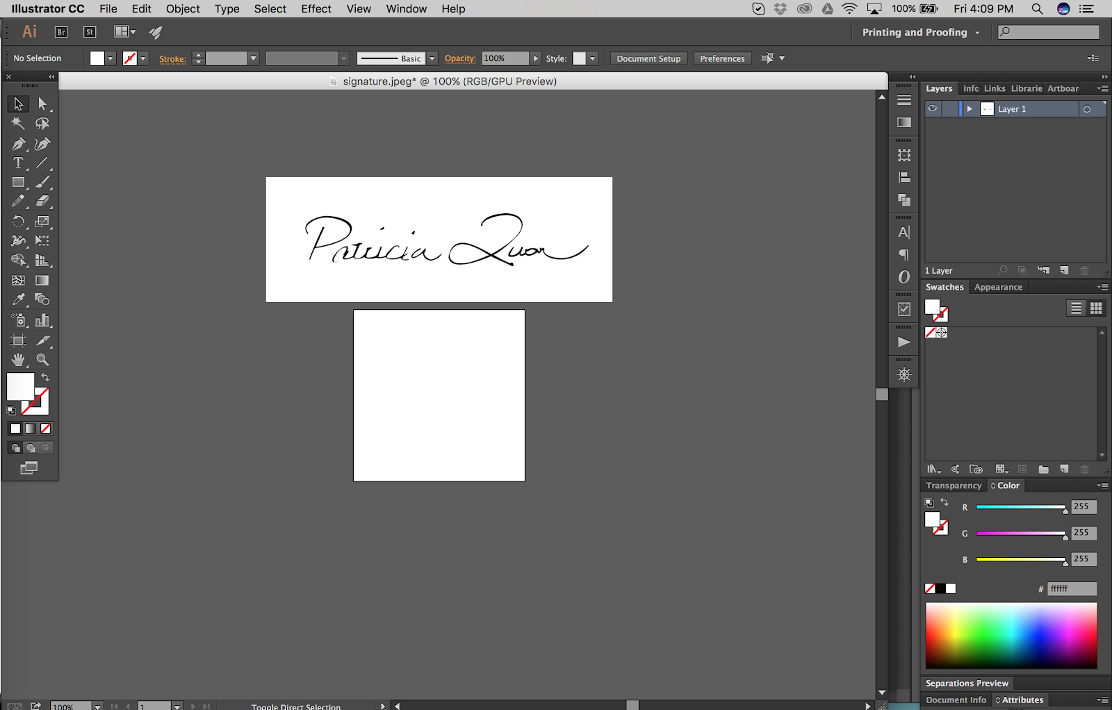 How To Vectorize Your Artist Signature (Illustrator).