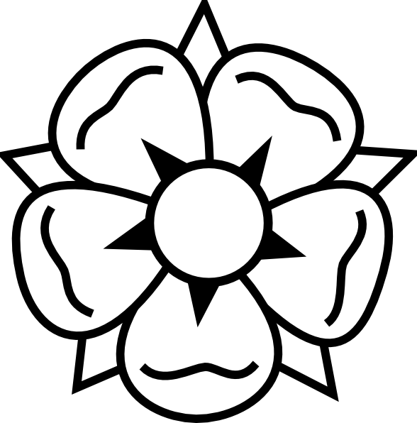 Traceable Clipart Of Flowers.