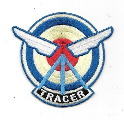 OVERWATCH VIDEO GAME Agent Tracer Logo Embroidered Patch NEW.