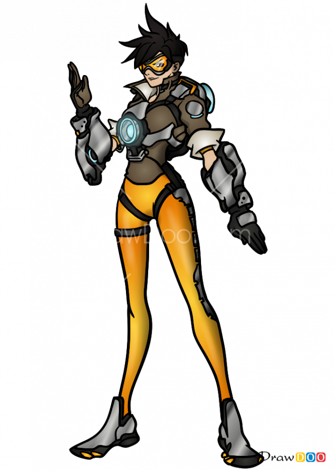HD Tracer Png Overwatch.