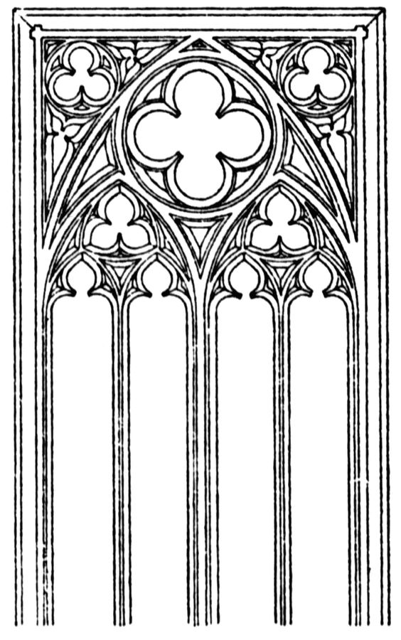 Gothic Tracery Patterns.