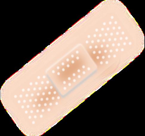 Plaster bandage bandaid clipart free public.