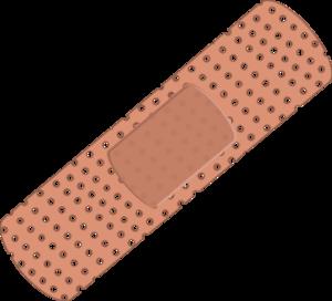 plaster Vector Clip Art.