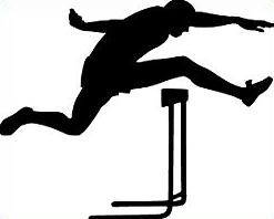 Track and field clipart #14