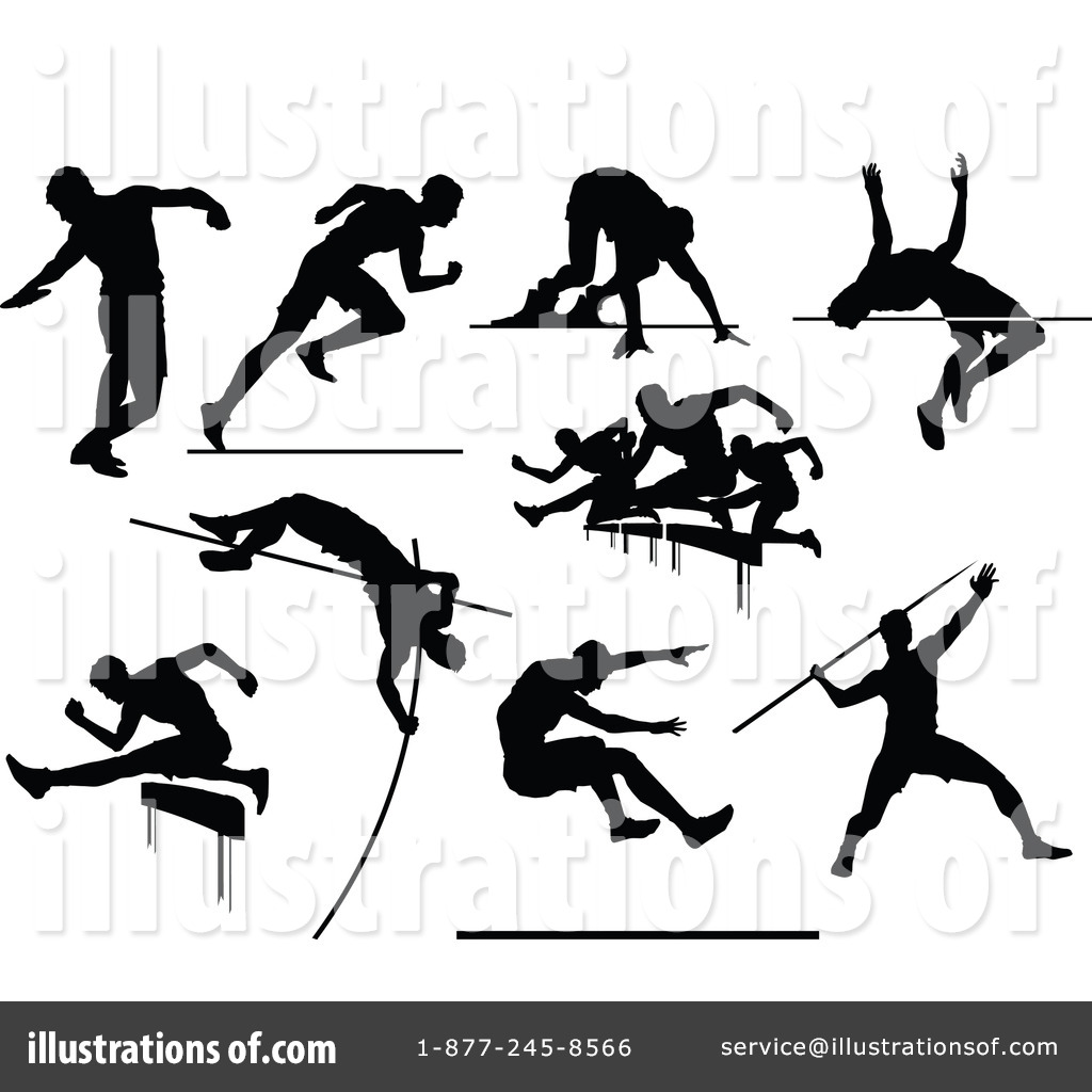 Track And Field Clipart #1260586.