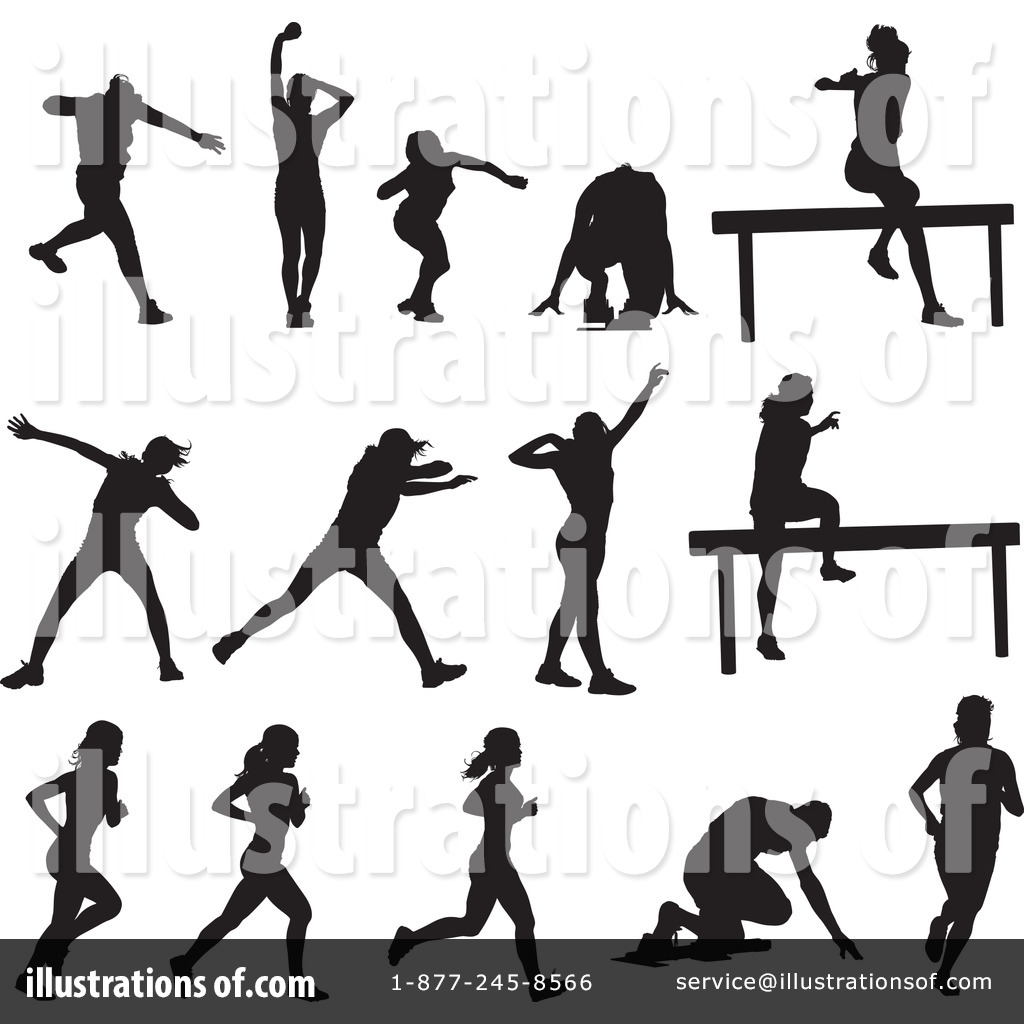 Track And Field Clipart #211748.