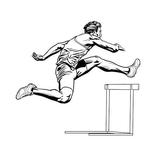 Athlete clipart track and field, Athlete track and field.