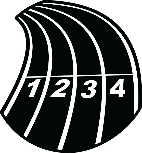 4620 Track free clipart.