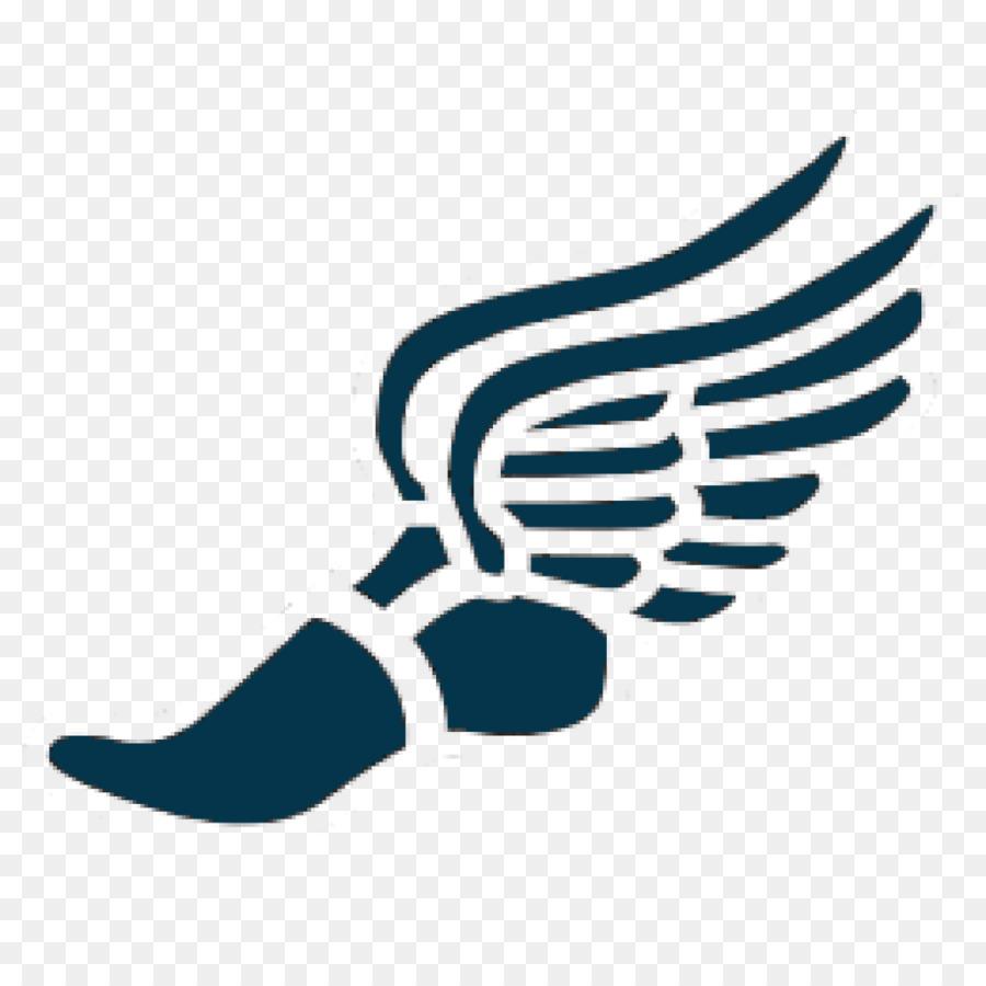 Track & Field Clip Art Foot Track Spikes #135022.