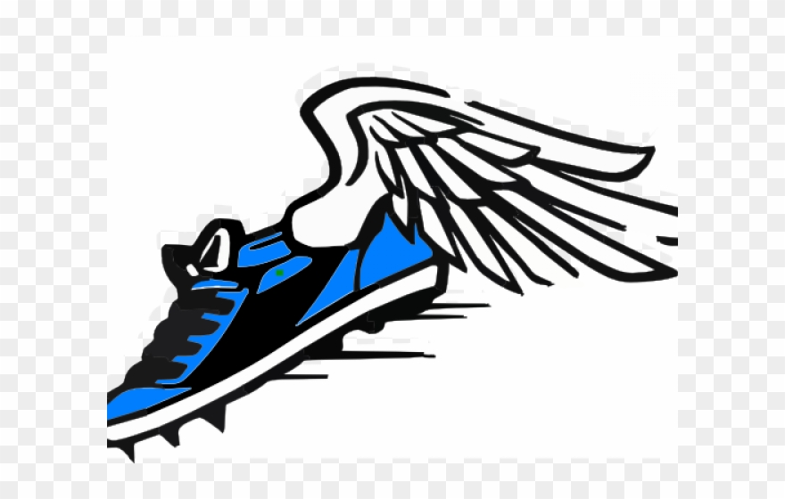 Shoe Clipart Track And Field.