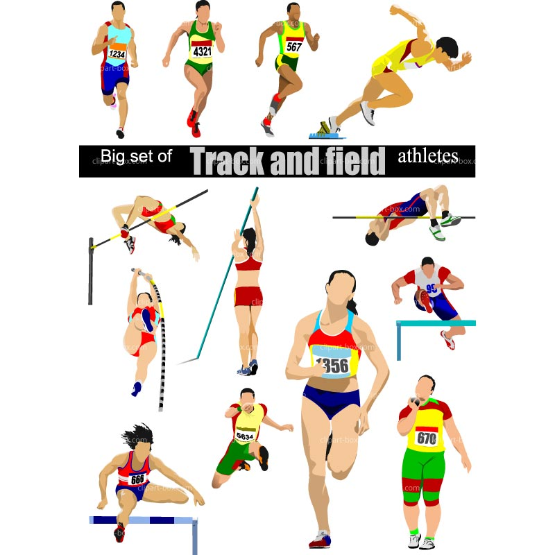 Track and field events clipart 1 » Clipart Station.