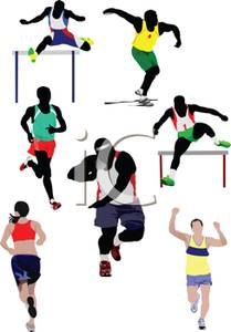 Track and field events clipart 5 » Clipart Station.