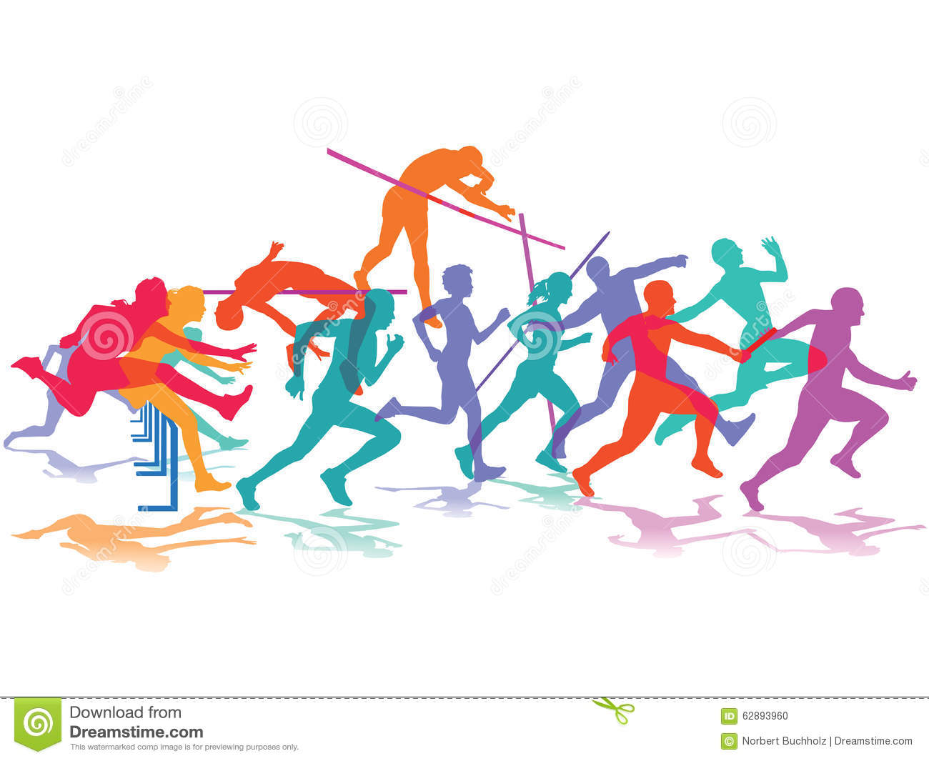 Track and field events clipart 2 » Clipart Station.