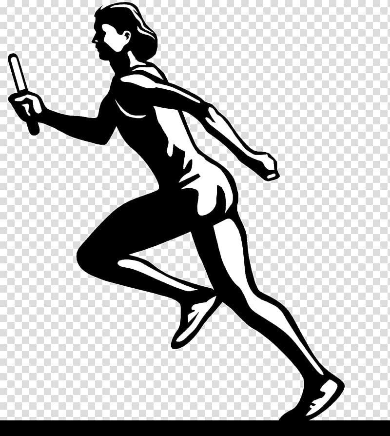 Track and field athletics Running , Athletic transparent.