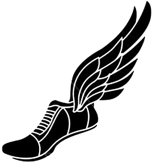 Track Shoes Clipart.
