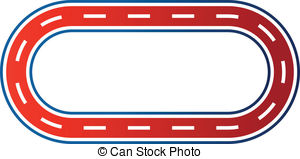 Race Track Clipart.