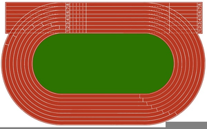 Track clipart athletic track, Track athletic track.
