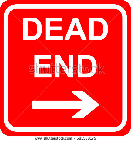 Dead End Sign Stock Photos, Royalty.