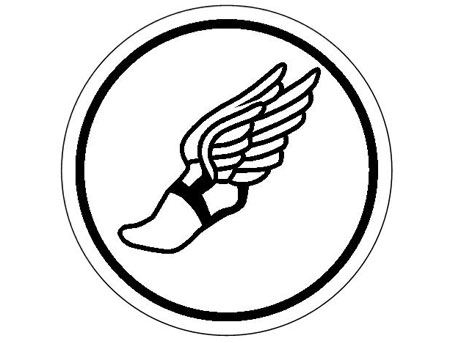 Free Winged Foot Logo, Download Free Clip Art, Free Clip Art.