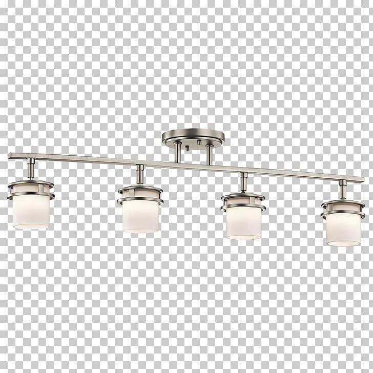 Track Lighting Fixtures Kichler Sconce, light rail PNG.