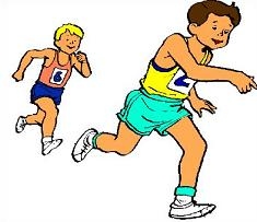 Track and field clipart.
