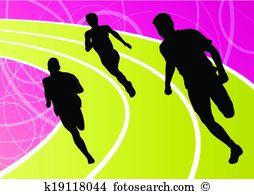 Running track Clip Art and Illustration. 2,392 running track.