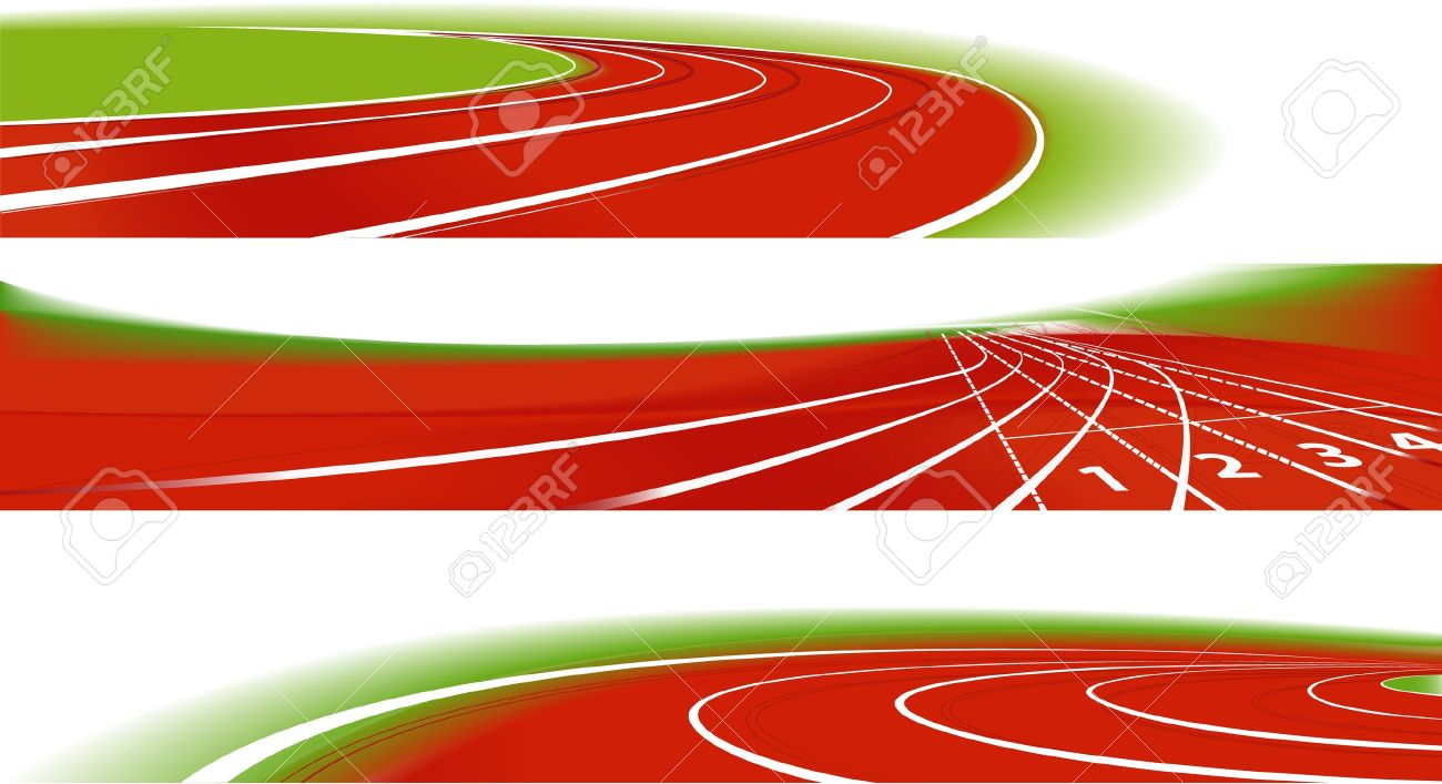 6,048 Running Track Cliparts, Stock Vector And Royalty Free.