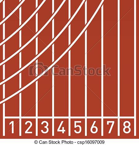 Running track Stock Illustrations. 3,629 Running track clip art.
