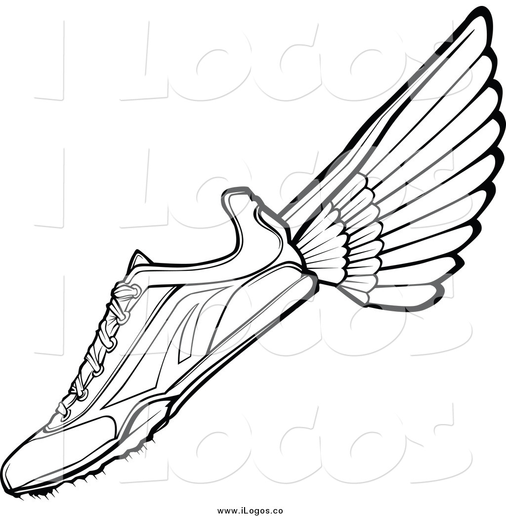 Track Spikes No Wings Clipart.