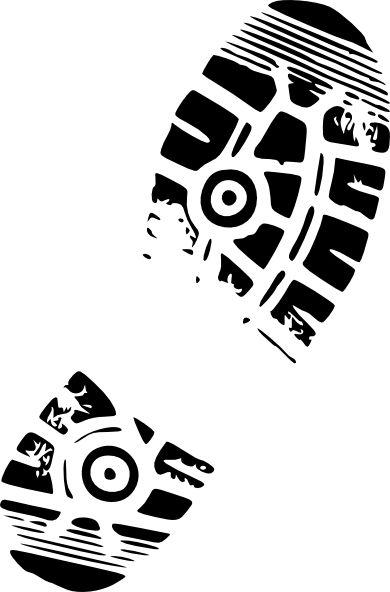clip art running shoes.