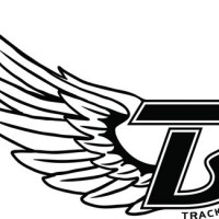 Track And Field Wings Clipart.