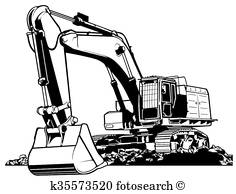 Trackhoe Clipart (88+ images in Collection) Page 2.